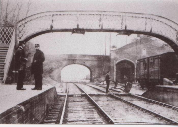 Yate Station Yate c1920rs